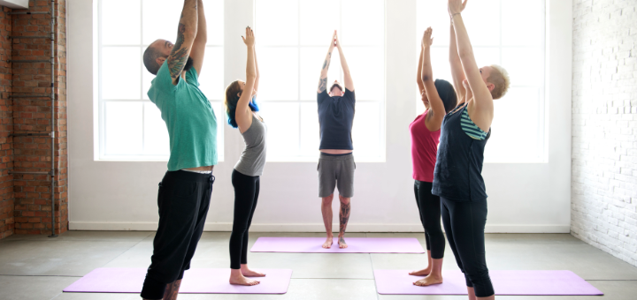 yoga class, planning for a specific outcome in class, setting intentions, creating a singular experience