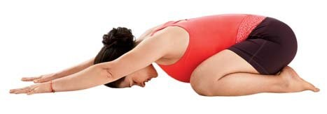 Balasna, Child's Pose, restful pose, yoga for stress relief