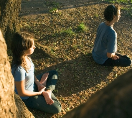 Yoga helps teenagers deal with growing pains