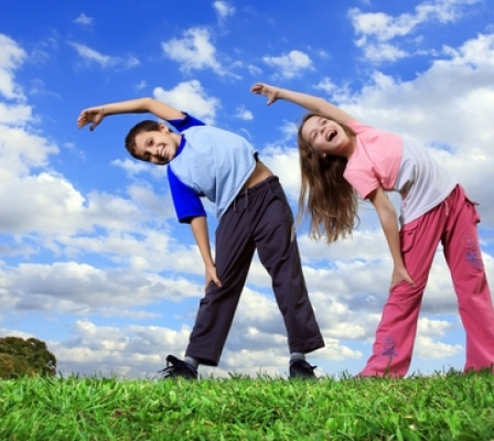 Yoga for kids fosters healthy growth
