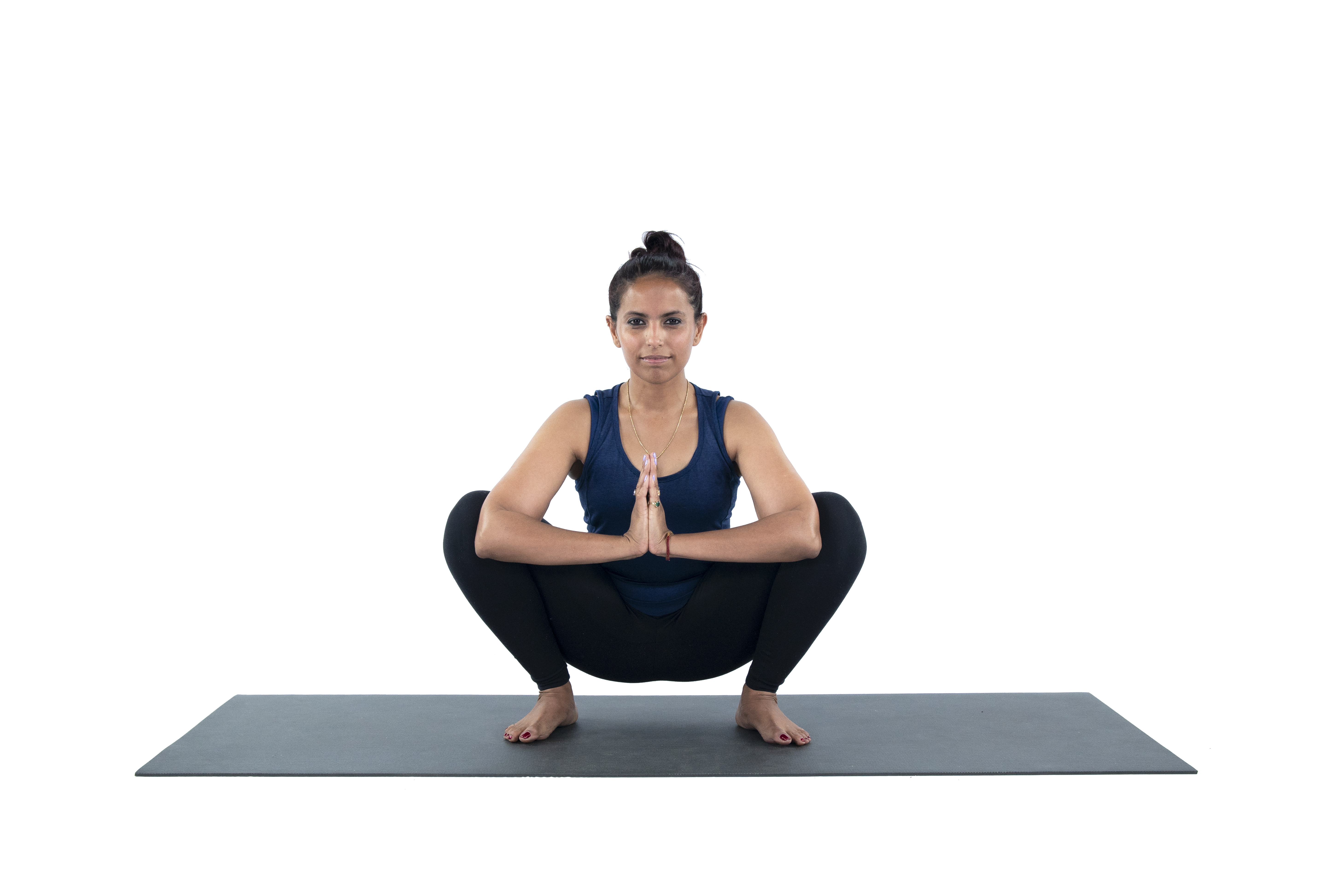 Malasana, Squat Pose,  Foot stretches, arch strengthening, beginner's yoga, foot health