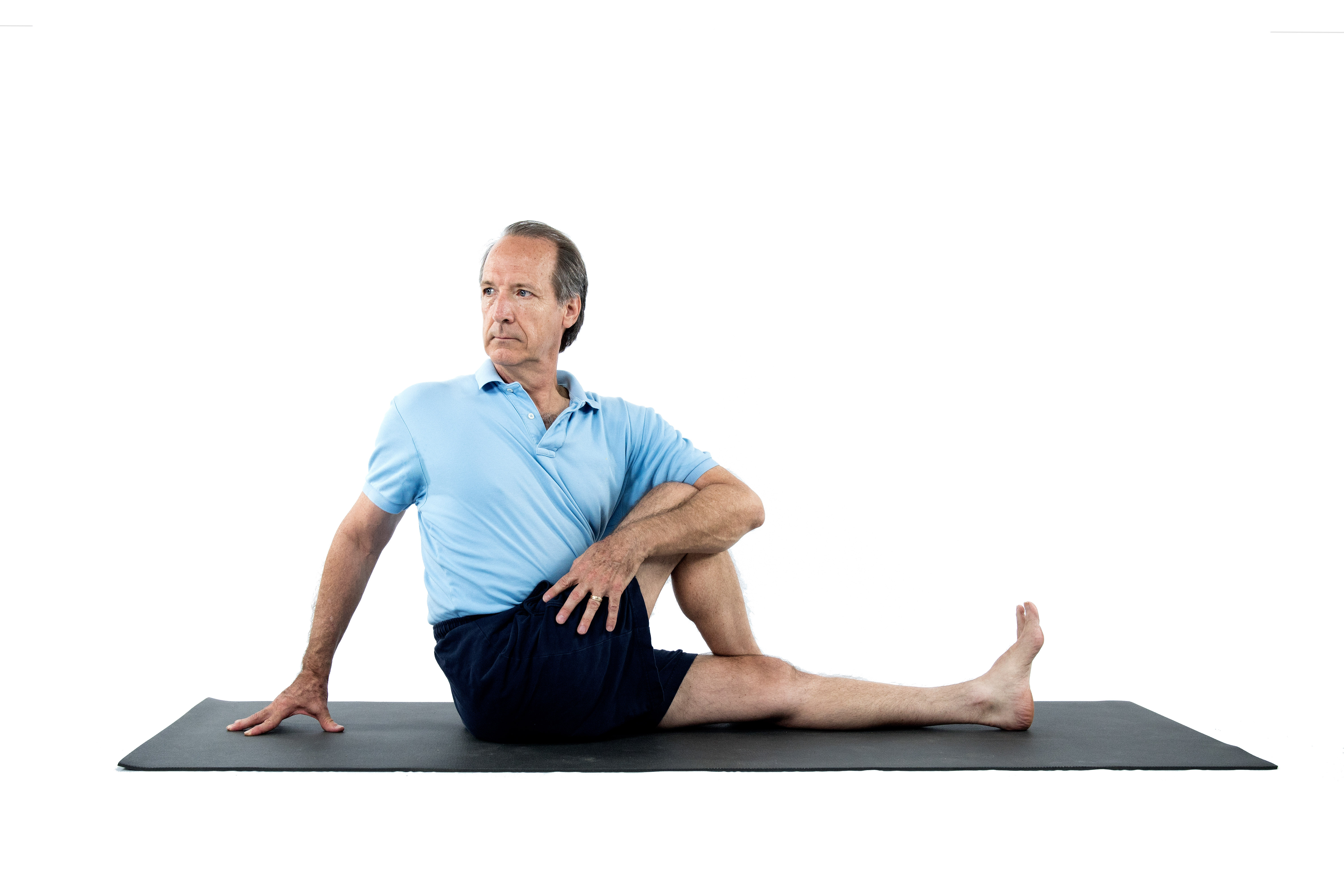 matsyendrsana, seated twist, twisting to improve digestive health, yoga to improve symptoms of IBS