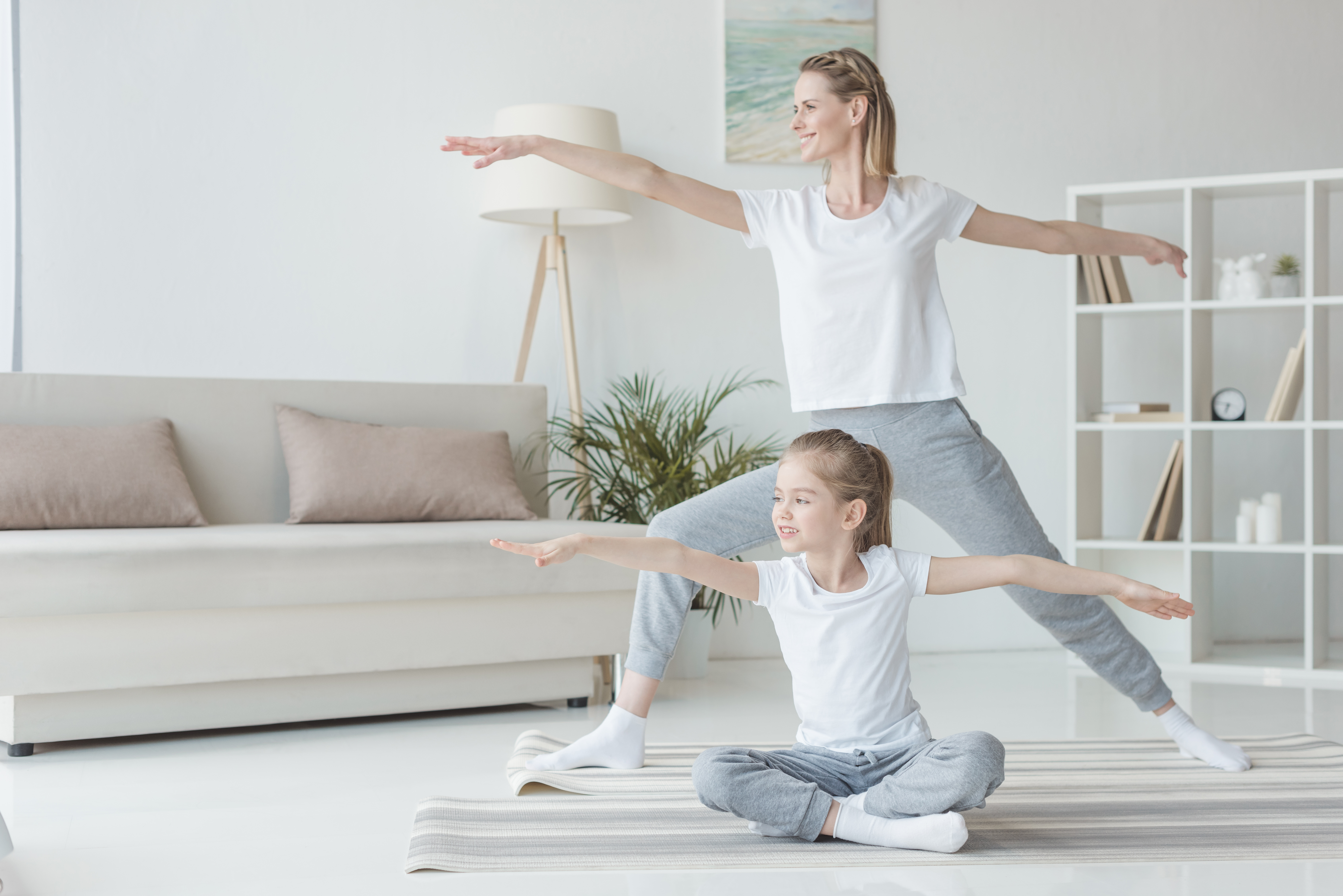 When It's Just Too Cold Outside: Family Yoga for Wintertime