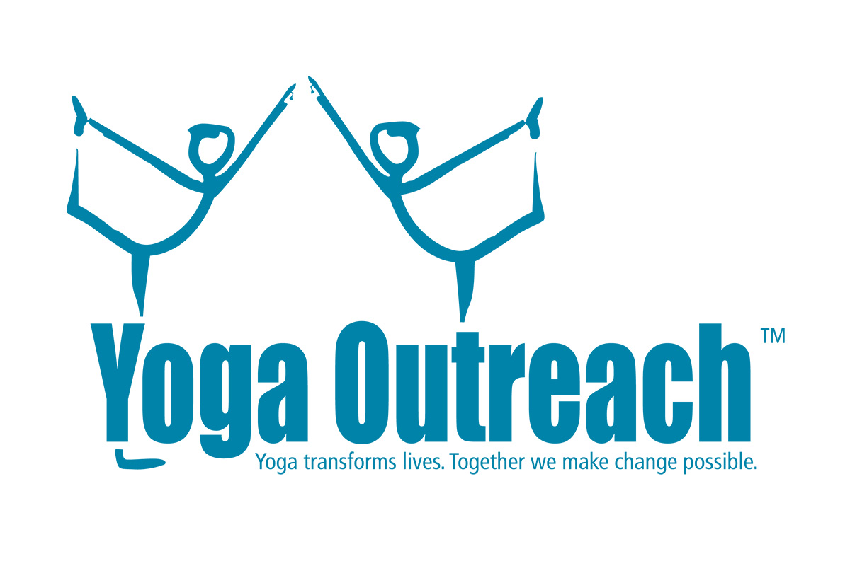 yoga outreach logo, yoga outreach organization, Making yoga accessible, trauma-informed yoga