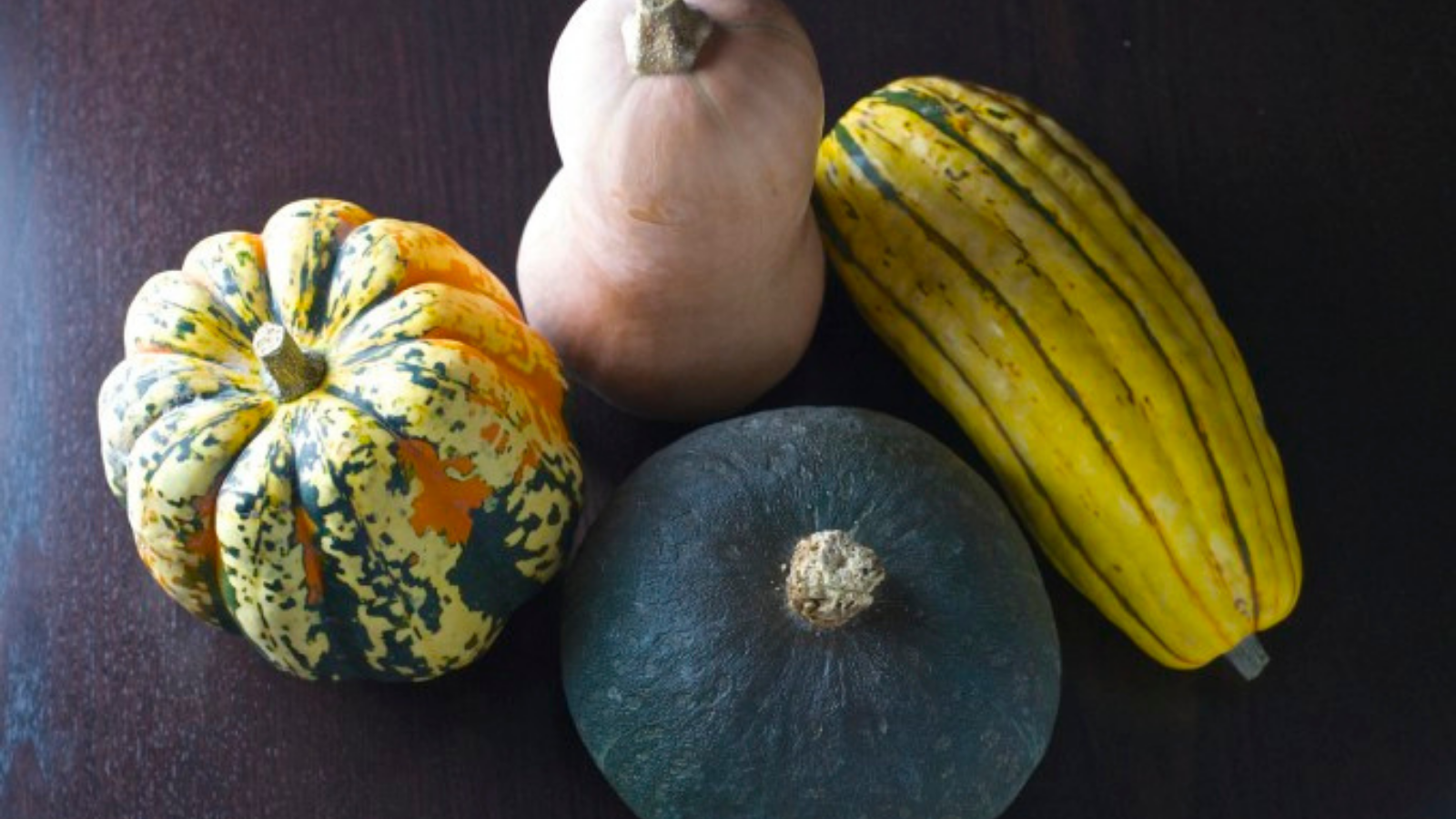 Recipes for utilizing the different types of squashes available in the winter season