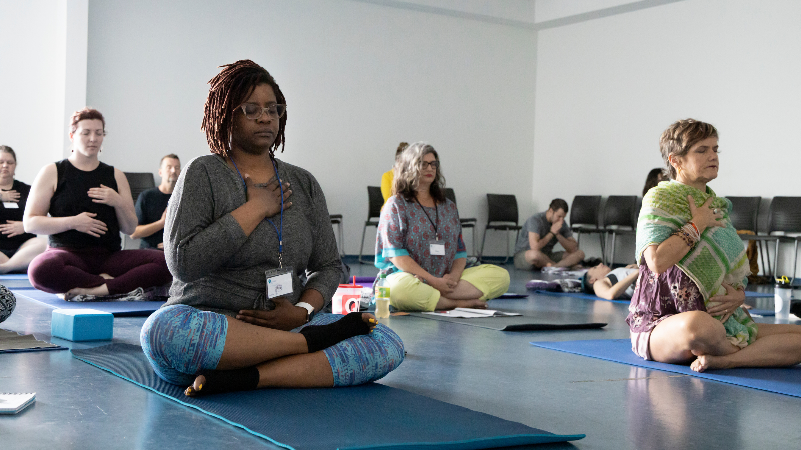 yoga classes that are inclusive of all students, structuring an accessible class, inclusive yoga, yoga for every body, yoga's easy pose for all bodies