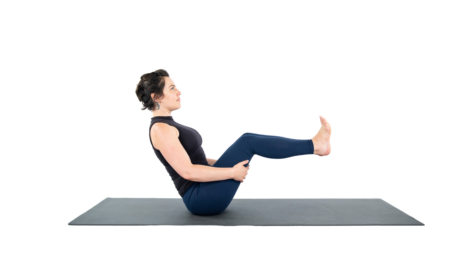 (Boat Pose) Navasana to strengthen the Psoas muscle