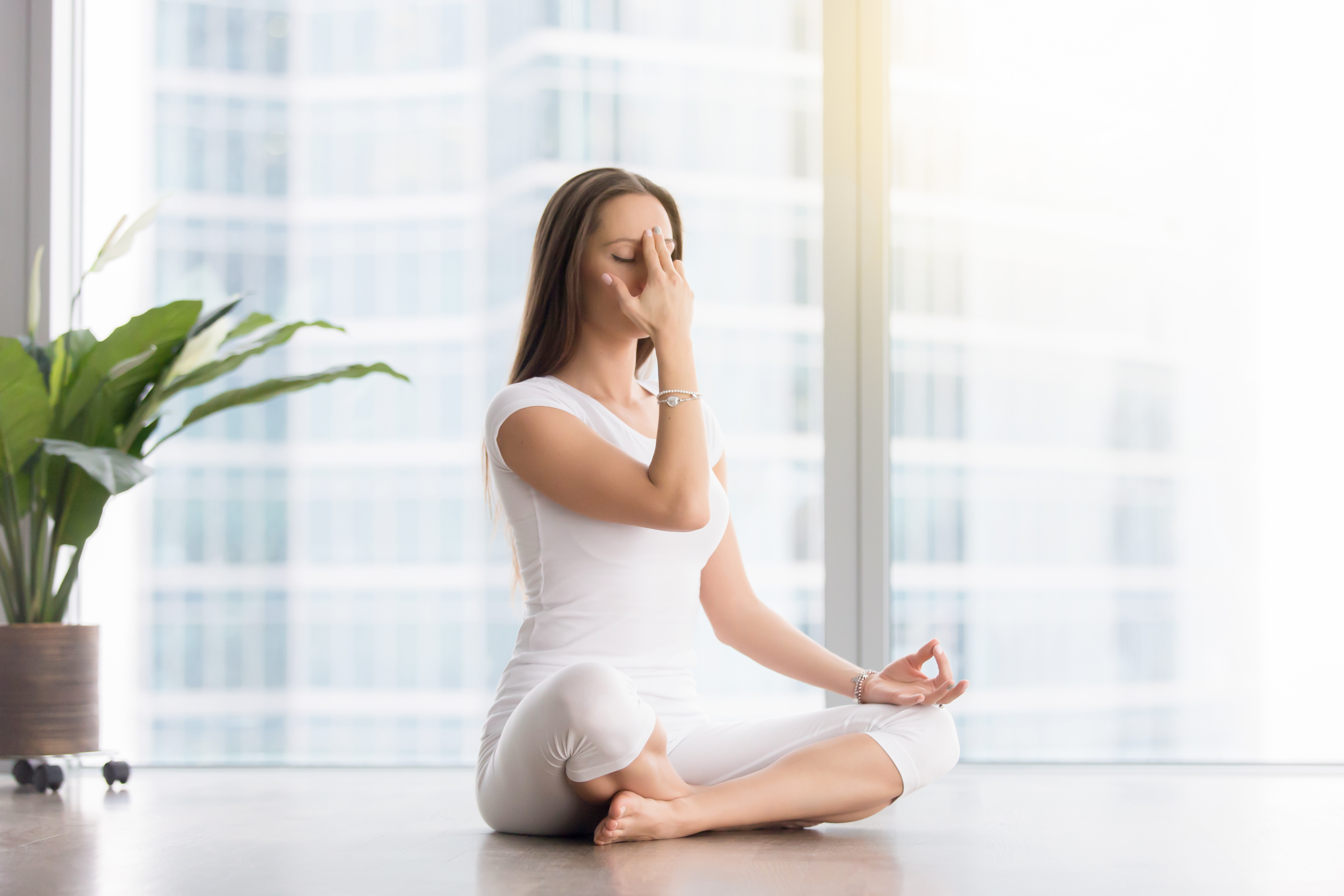 Pranayama, yoga and the breath, beginner's yoga, yoga for rest and relaxation