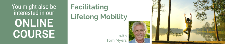 Tom Myers, YogaUOnline presenter, wellness, yoga and fascia, lifelong mibility