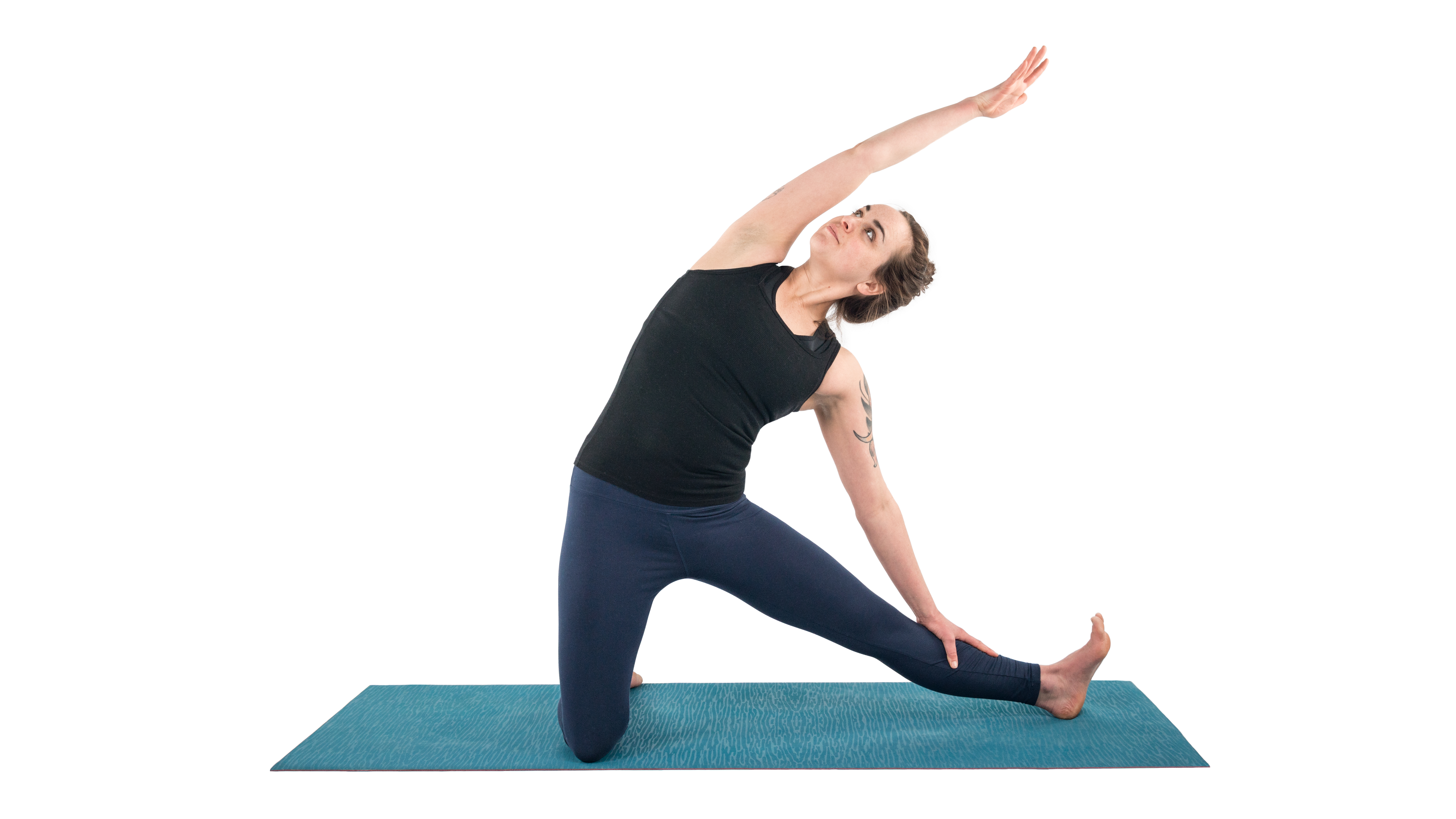 Parighasana, Gate Pose, Gate Latch Pose, gentle backbend, lateral bending pose, backbend prep pose