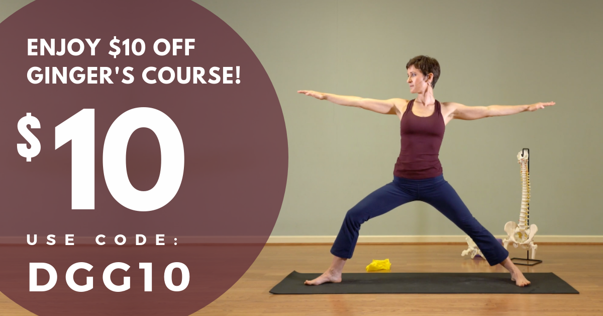 Ginger Garner YogaUOnline Yoga Course Coupon