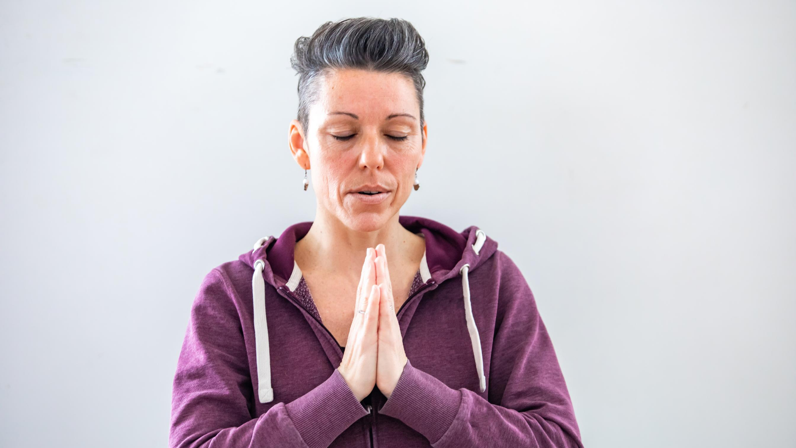 yoga instructor enjoys the benefits of yoga and meditation designed for helping with trauma