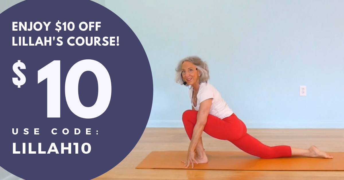 Online Yoga Course for a Fluid Spine with Lillah Schwartz $10 Coupon