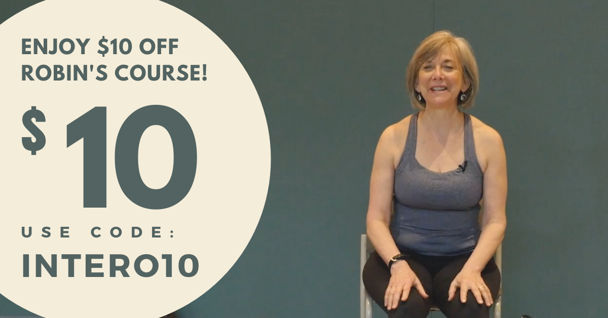$10 Coupon for Online Yoga course on Interoception with Robin Rothenberg
