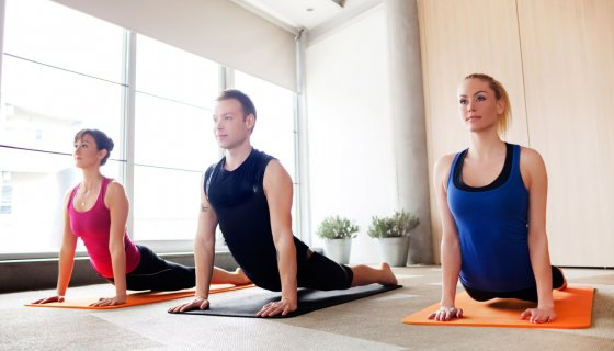 Teaching yoga to beginners