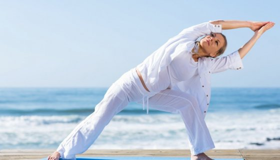 unique challenges aging boomers bring to their yoga practice