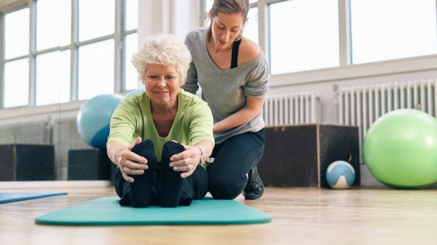 yoga for back pain with Robin Rothenberg