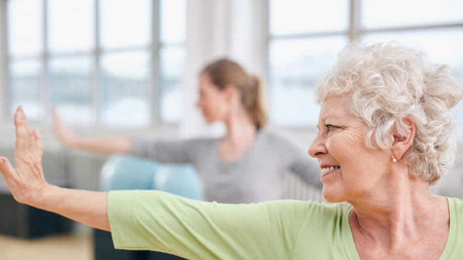 Yoga practice as we age