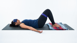 How to slow down and tune in to your yoga practice in Constructive Rest Pose