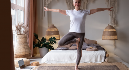 How to practice Tree yoga Pose (Vrksasana) in a mindful way that engages your body and mind