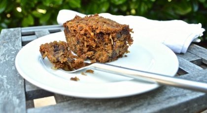 Apple breakfast cake, healthy breakfast, cake for breakfast