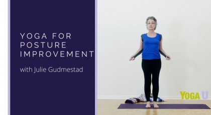 yoga for posture improvement