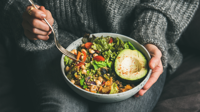 Healthy eating habits, healthy grains and healthy fats, eating for health and wellbeing