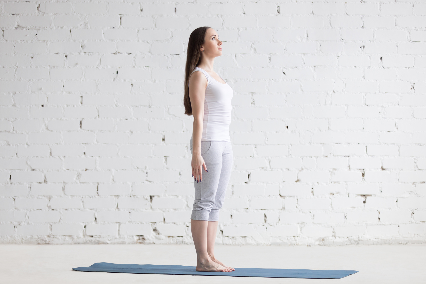 Tadasana, Mountain Pose, foundation pose, beginners yoga, yoga for medical conditions