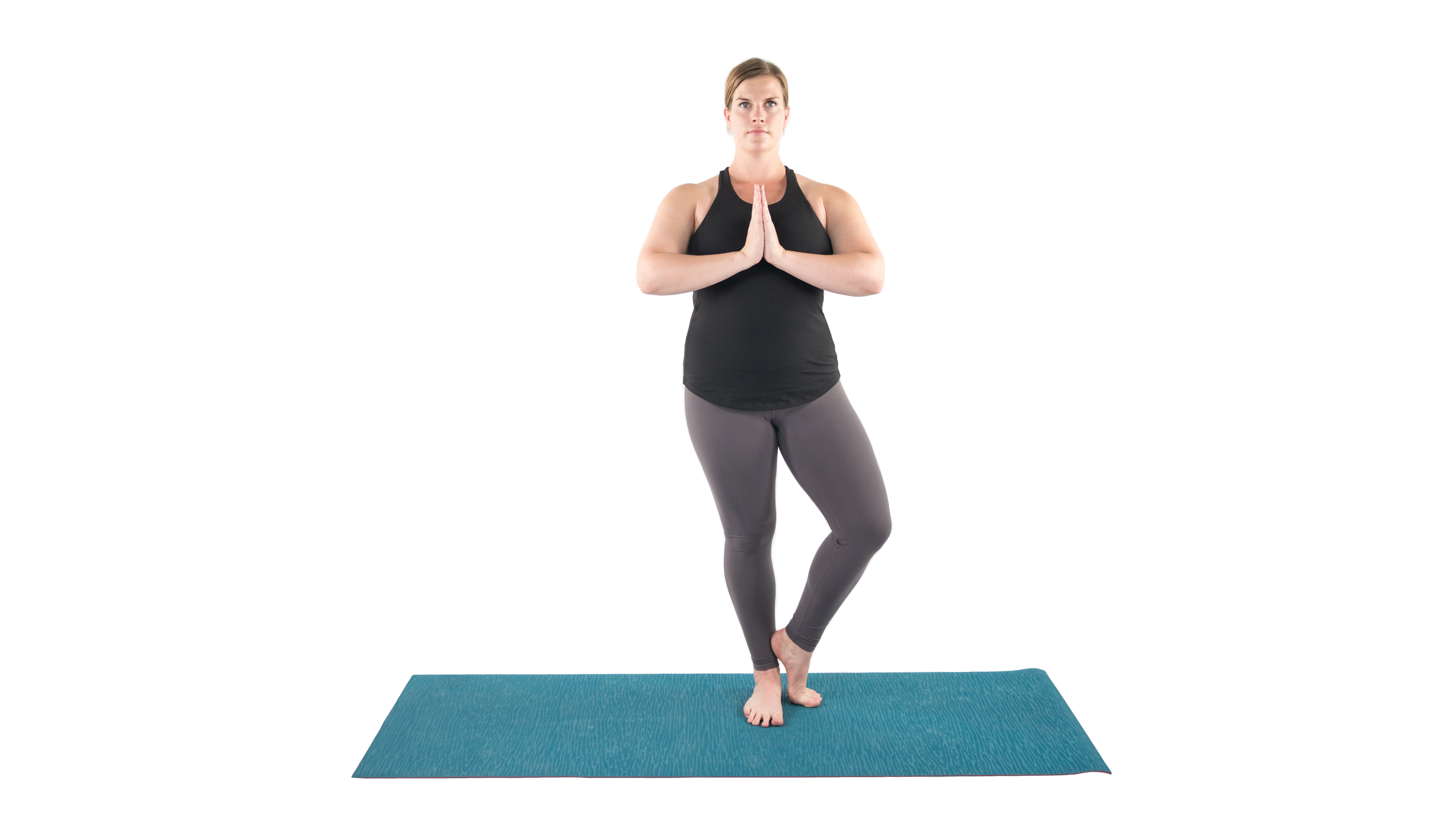 Vrksasana, Tree pose, tree pose variations, beginner's yoga, yoga you can do outside